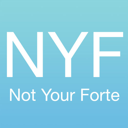 Not Your Forte logo